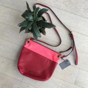 Fossil - Red and Pink Crossbody bag